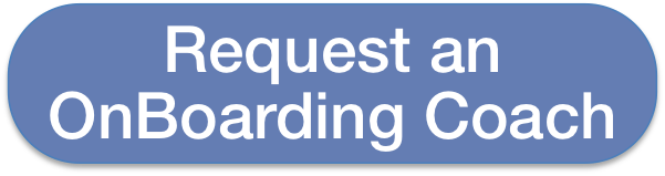 Request an OnBoarding Coach